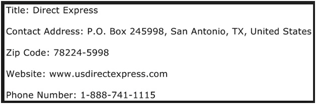 US direct express routing number -2