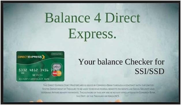 USDirectExpress Balance -1