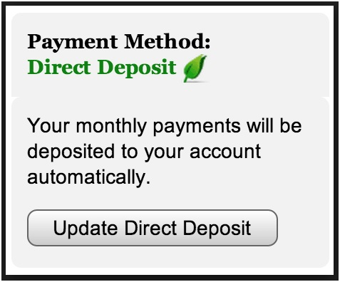 Social Security Direct Deposit Requirement